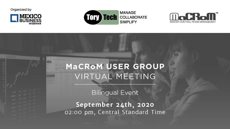 MBN 2020 MaCrOm user group Virtual Meeting