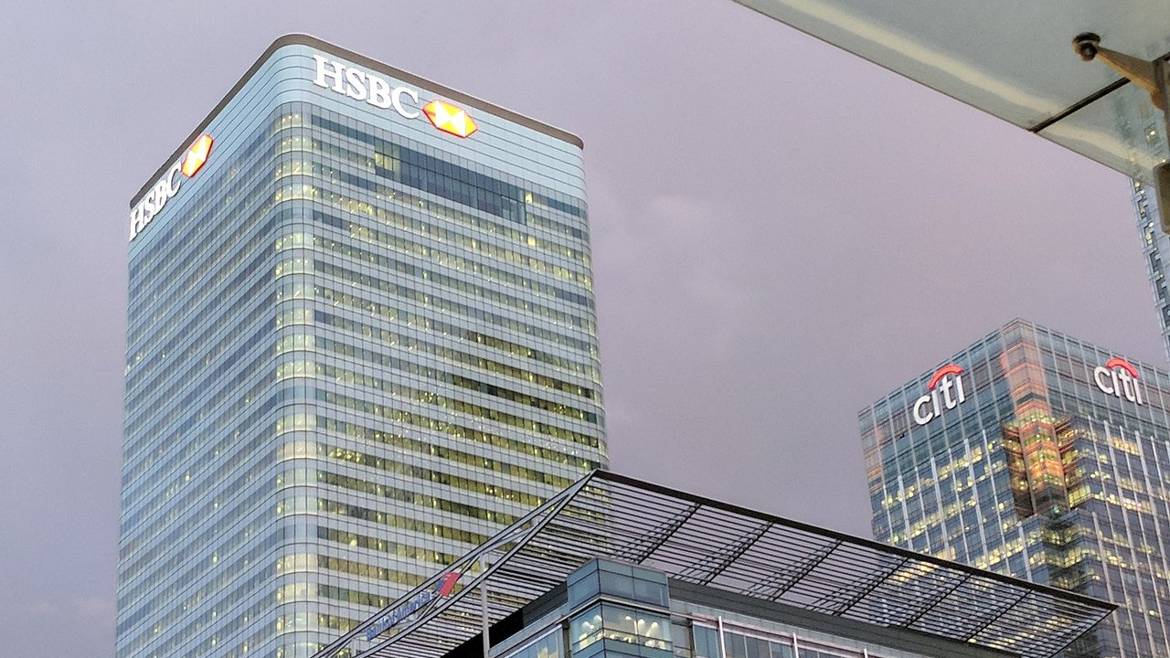 HSBC in Canary Wharf