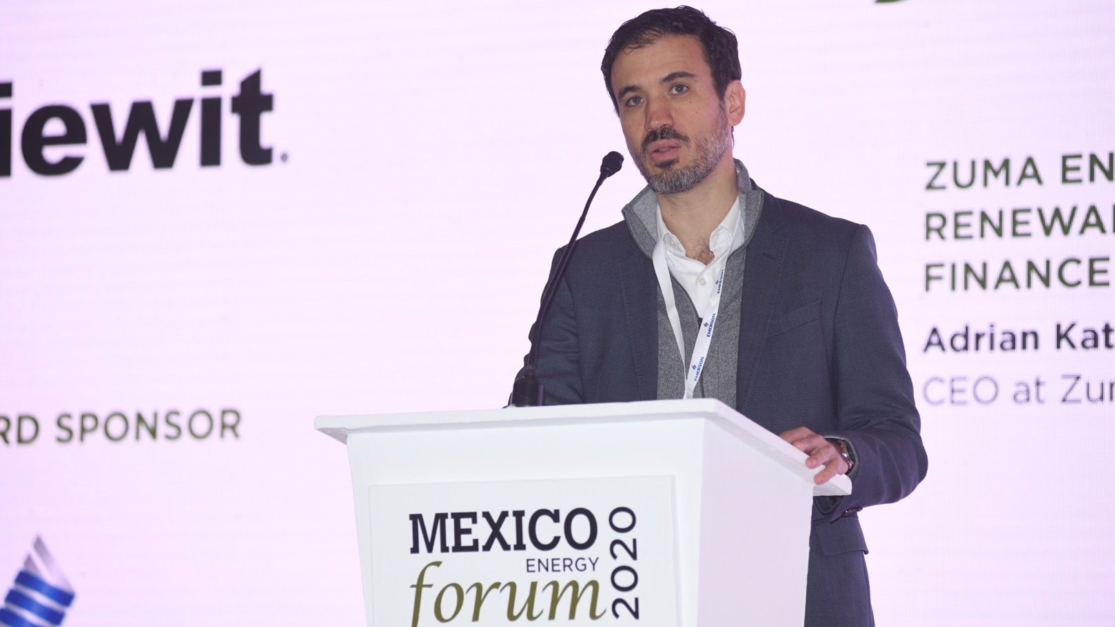 Adrian Katzew, Zuma Energia, Mexico Energy Forum, Mexico Energy Forum 2020,