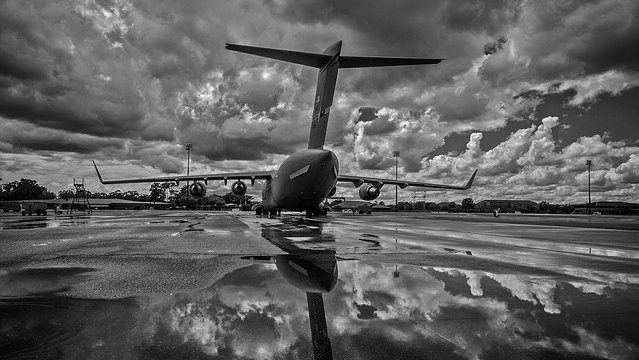 Cloudy day for aviation