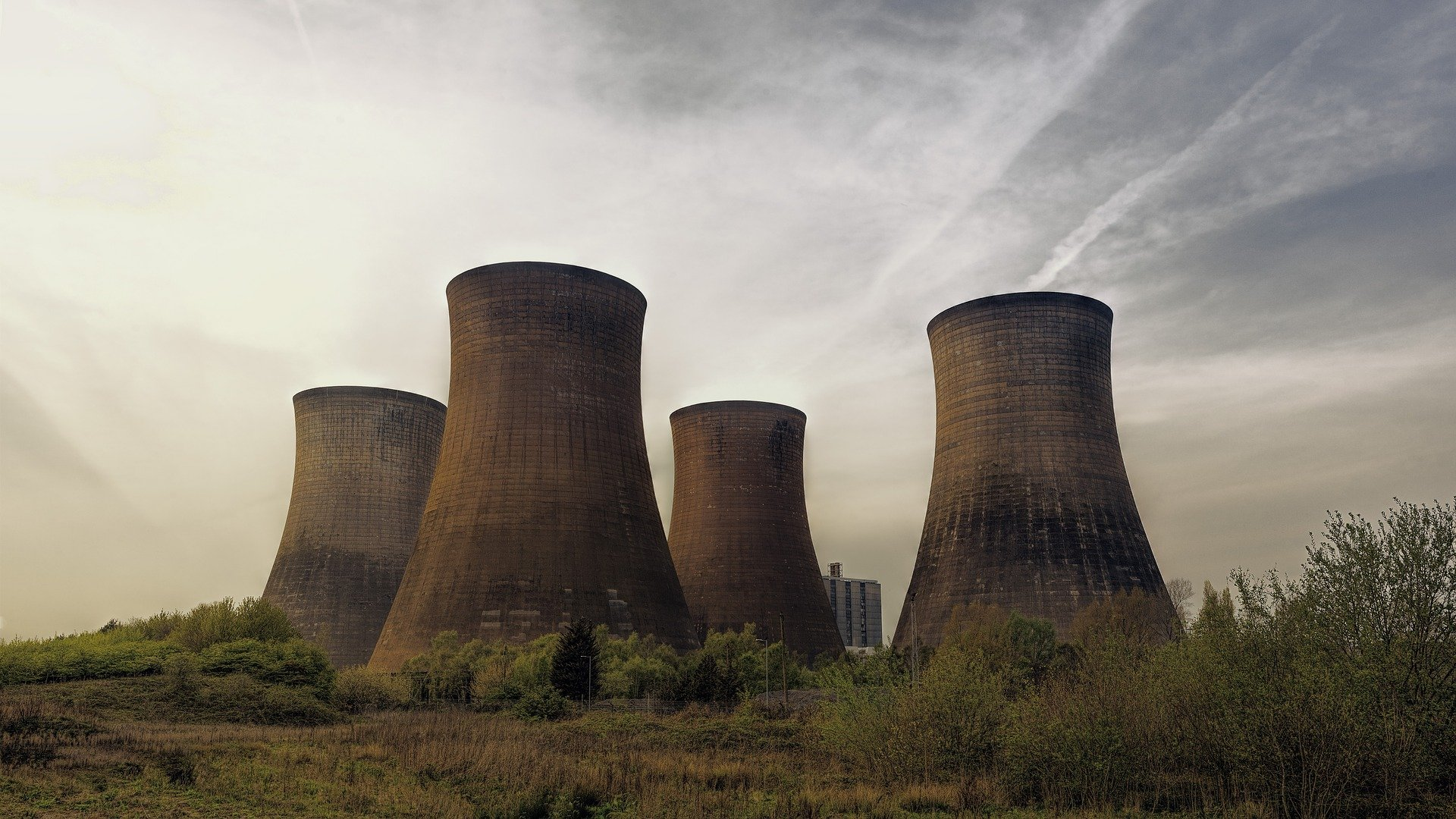 Nuclear Energy Cooling Towers