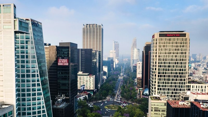Mexico City Financial District