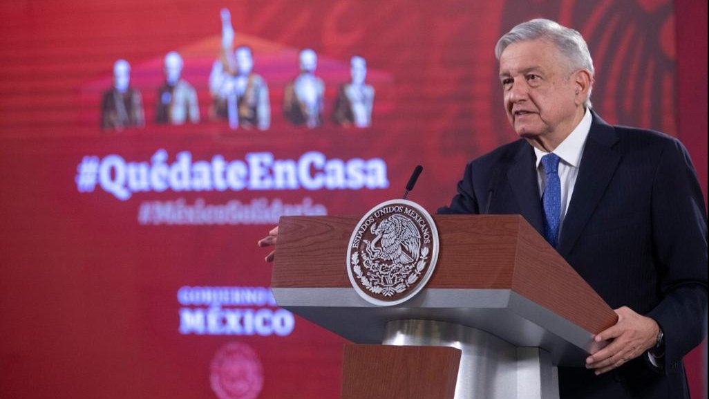 President López Obrador addressed the next US visit and the COVID-19 status in today's briefing.