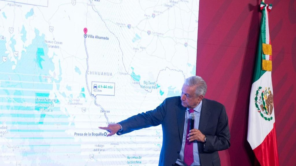 President López Obrador detailed a report on the La Boquilla dam affair.